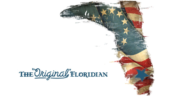 THE ORIGINAL FLORIDIAN- BETSY ROSS FLAG 60X35