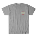 HEATHER GRAY STATE FLAG S/S