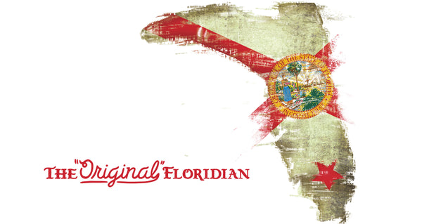 THE ORIGINAL FLORIDIAN- FLORIDA STATE FLAG 60X35