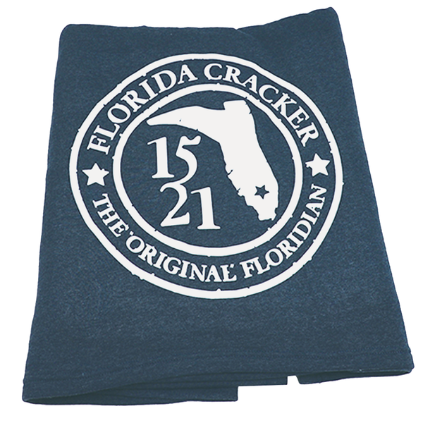 1521 ORIGINAL FLORIDIAN BADGE- MIDNIGHT BLUE- BLANKET