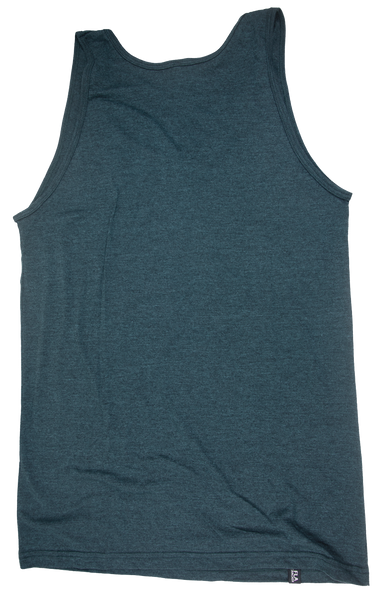SUNSHINE STATE OF MIND- BLACK AQUA- LADIES STANDARD TANK TOP