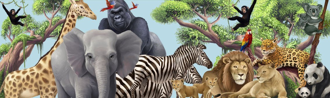 Animals Wall Decals & Murals