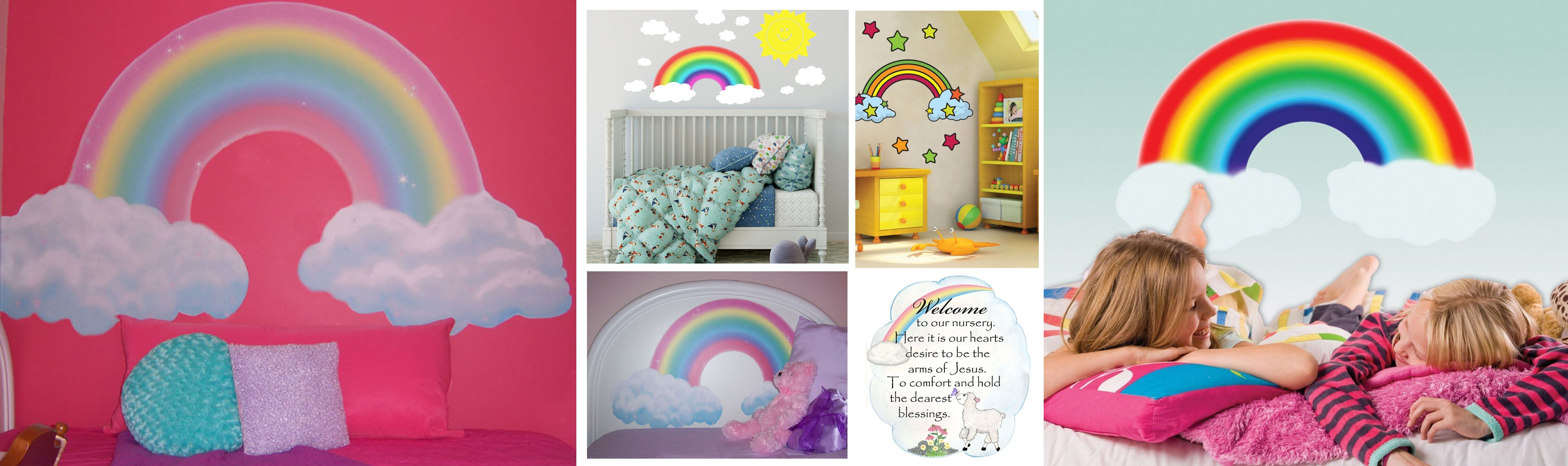 Rainbow Wall Decals & Murals