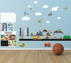 boys wall decals