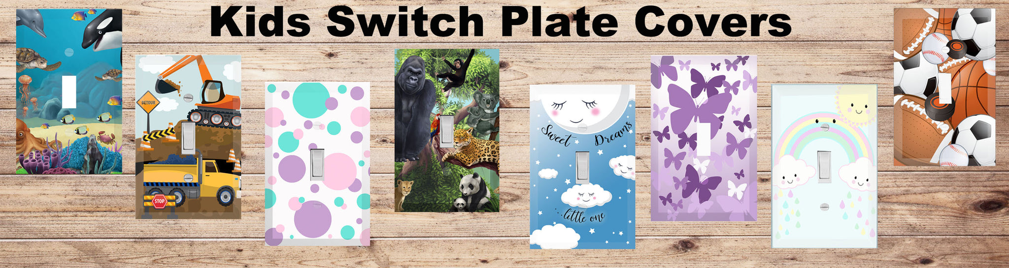 Kids Room Light Switch Covers