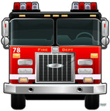 Fire Truck Wall Decals Murals
