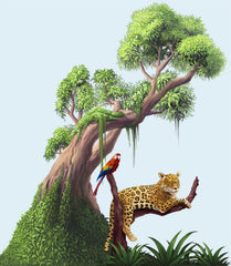 Jungle Decor Kids Mural