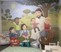 Church Nursery Murals