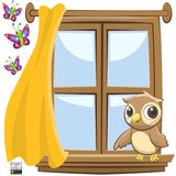 Window Wall Murals