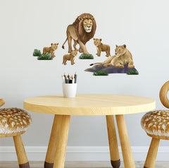 Kids Wall Decals Lion