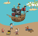 Pirate Wall Decals Murals