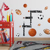 Sports Wall Decals Murals