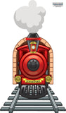 Train Wall Decals Murals