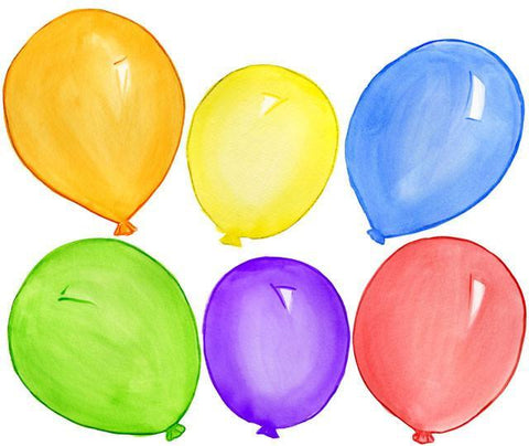 Balloon Bunch Wall Stickers - Create-A-Mural