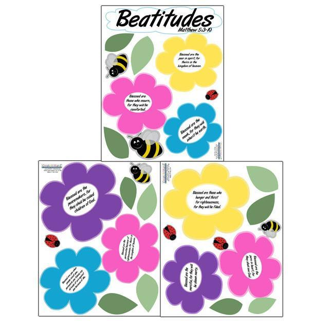 Beatitude Wall Decals