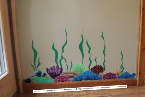 Coral Undersea Wall Decals