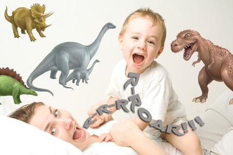 Dinosaur Wall Decals - Kids Room Mural Wall Decals