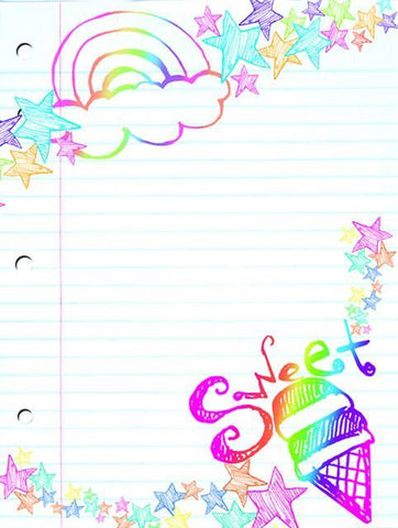 Super Sweet Girls Dry Erase Locker Decal