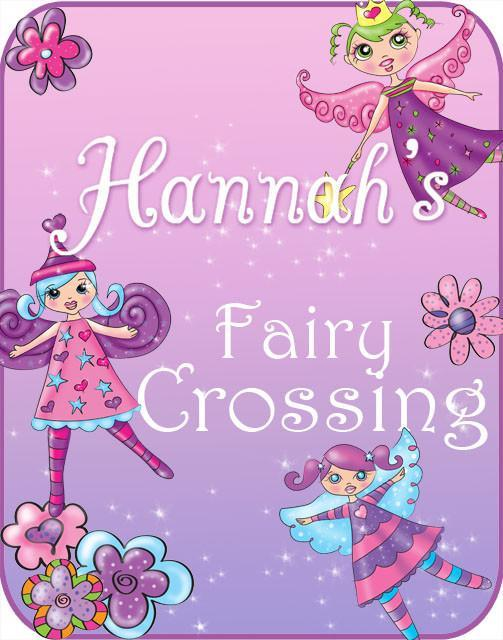 Fairy Crossing Door Sign Decal