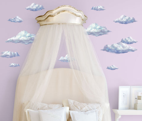 Sky Cloud Wall Decals - Kids Room Mural Wall Decals