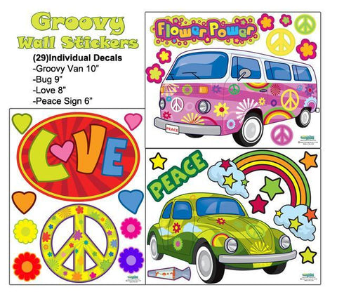 Peace & Love Wall Stickers