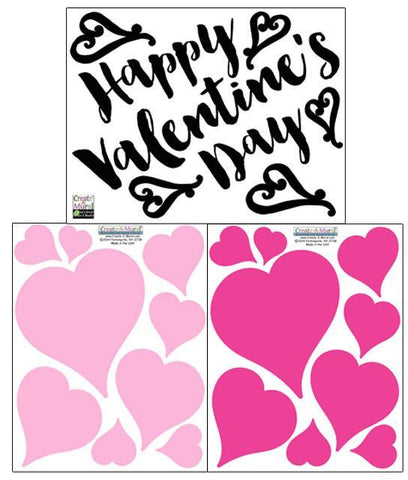 Valentine's Day Wall Decals - Kids Room Mural Wall Decals