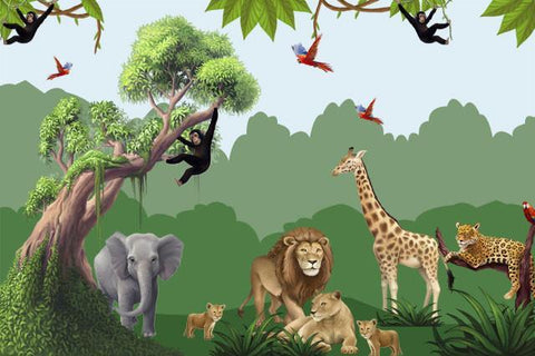 Jungle Mega Mural Kit - Create-A-Mural