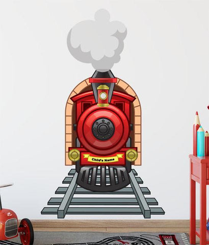 Choo Choo Train Wall Mural for Boys - Create-A-Mural