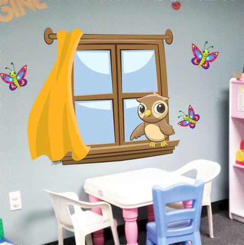Kids Window Mural - Create-A-Mural