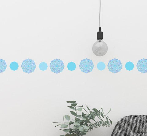 Mandala Wall Decals - Kids Room Mural Wall Decals