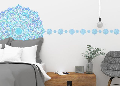 Mandala Wall Mural - Kids Room Mural Wall Decals