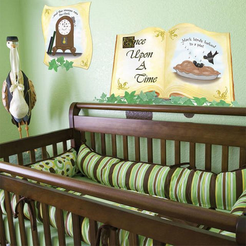 Once Upon A Time Nursery Rhymes Mural - Kids Room Mural Wall Decals