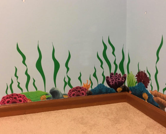 ... Coral Under Sea Wall Decals, Kids Wall Decals   Create A Mural ...