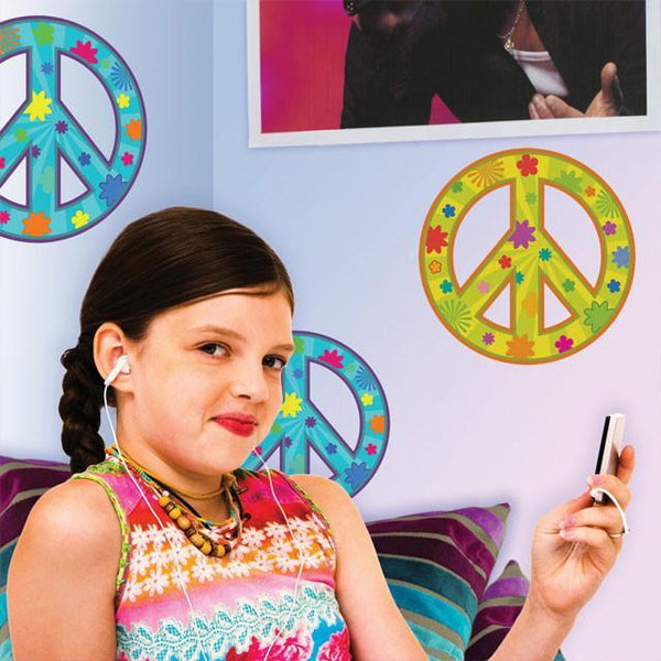 Peace Sign Bedroom Accessories: Decor Of Peace Signs For Teen