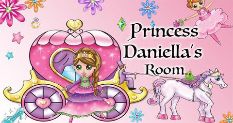 Princess Room Decal - Kids Room Mural Wall Decals