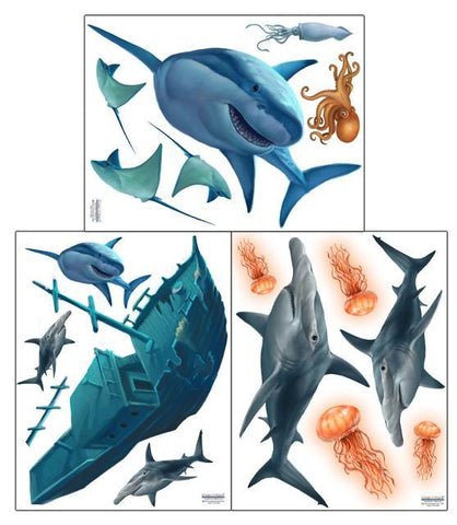 Shark Wall Decals