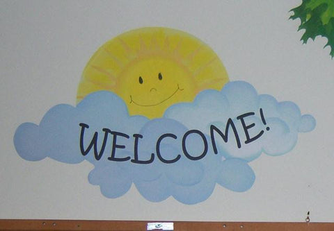 Sunny Welcome Mural