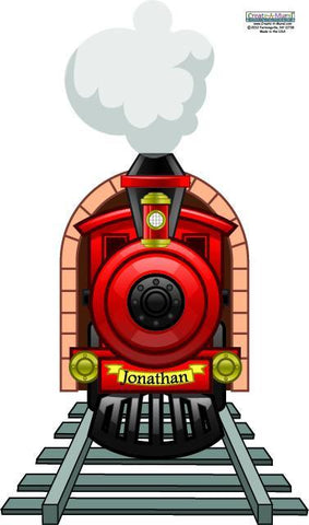 Choo Choo Train Wall Mural