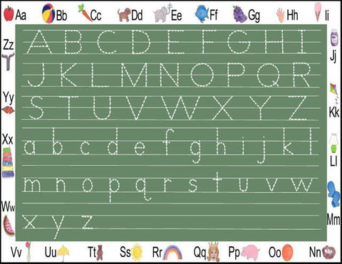 Learn the Alphabet Dry Erase Placemat - Create-A-Mural