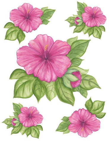 Hibiscus Wall Sticker