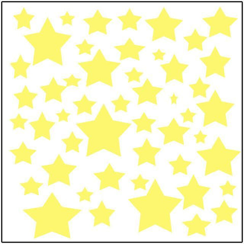 Northern Light Stars Wall Stickers - Kids Room Mural Wall Decals