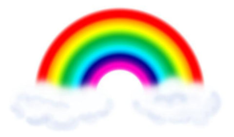 Primary Rainbow Wall Decal