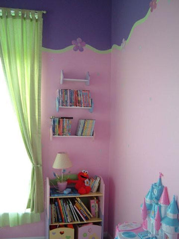 Pastel Flower Dot Room