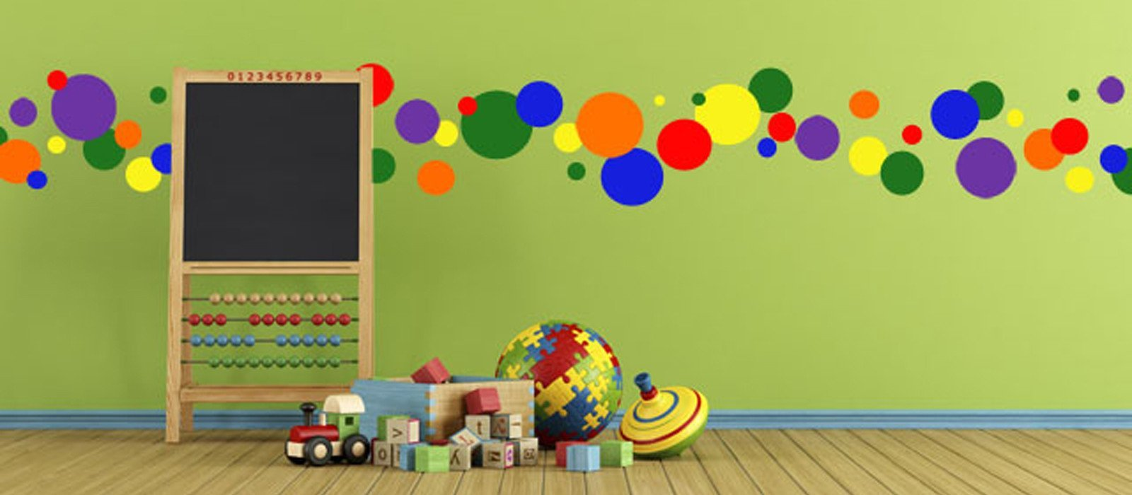Polka Dot Wall Decals in Every Color & Size