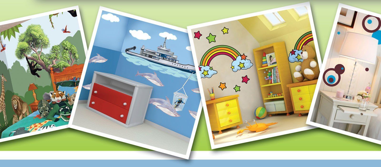 Lots of Kids Room Themes