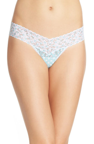 'Dots & Spots' Low Rise Thong