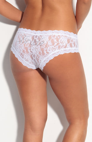 'Bride' Lace Hipster Panties
