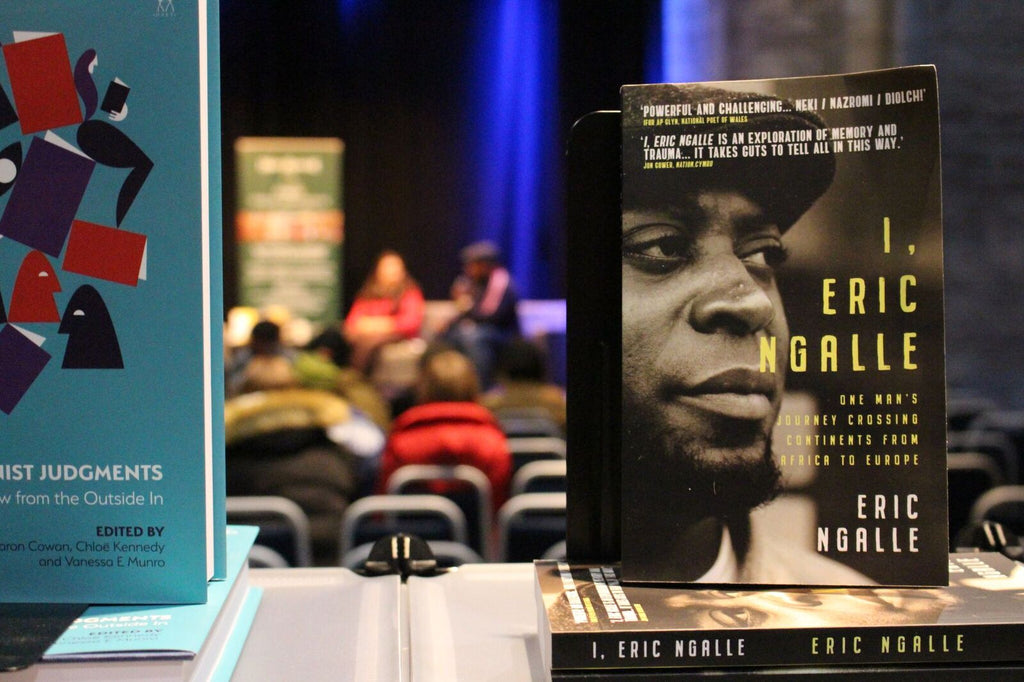 Photo Blog: Eric Ngalle at Edinburgh's Radical Book Fair
