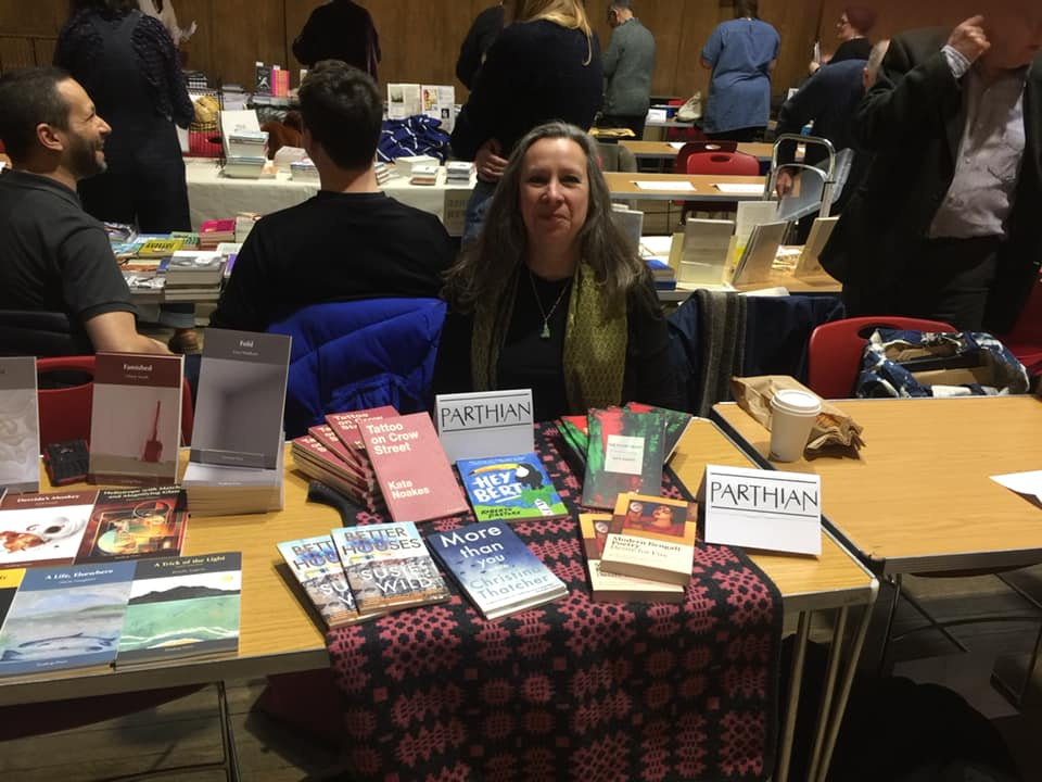 Parthian at Free Verse Poetry Book Fair 2020