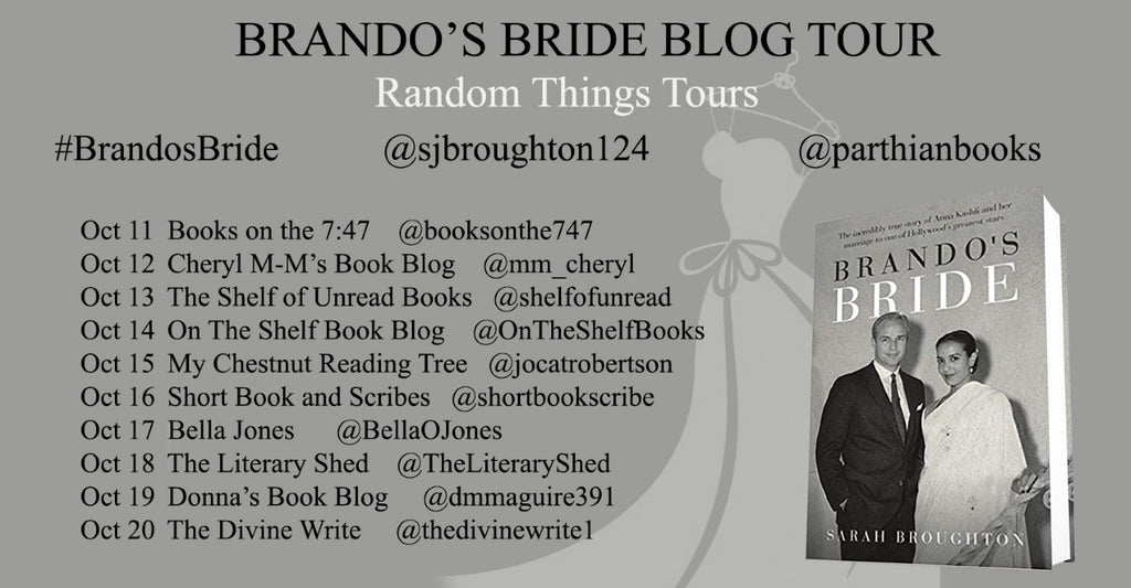 Sarah Broughton's blog tour is blazing a trail!